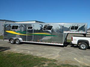 Stainless Steel Gooseneck 4 Horse Trailer