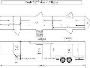 Single Stall Floor Plans
