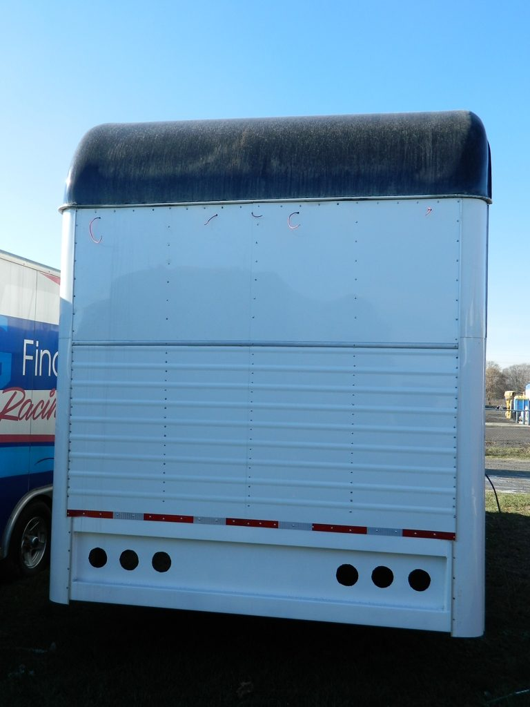 Imperatore horse vans for sale - Rear View