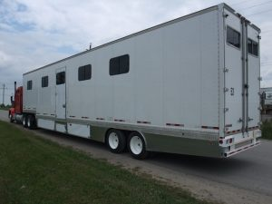 Heavy Horse Conversion Trailer