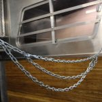 Galvanized Cross Tie Chains with Zinc Coated Snaps