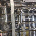 Stainless Steel Twist Lock Side Door Locks