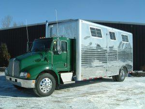 6 Horse Van Body with Radius Corners